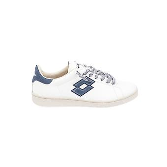 Lotto men's T4554WHITE White leather of sneakers