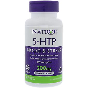 Natrol 5HTP Time Release 200 mg 30 tabs (Vitamins & supplements , Special supplements)