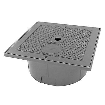 Hayward SPX1082EFDGR Square Collar and Lid Assembly - Dark Gray
