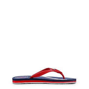 U.S. Polo Men Flip Flops Blue