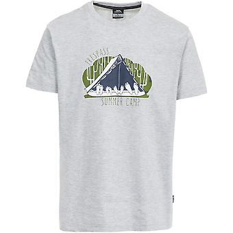 Trespass Mens Camp Short Sleeve Printed Casual Sports T-Shirt