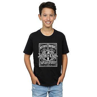 Johnny Cash jungen Musik Rebell T-Shirt