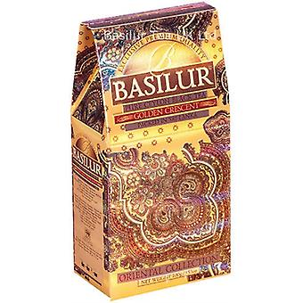 Basilur Tea - Golden Crescent - Loose Leaf Black Tea 100G