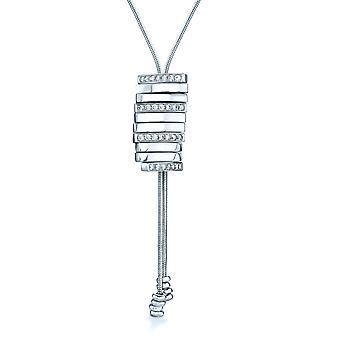 Orphelia halskæde Movable stykker 925 sølv med Zirconium ZK-7363