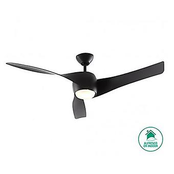 Plafond Fan Artemis Black 147 cm/58