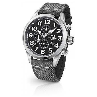 TW Steel Mens Volante Grey 45mm Chronograph VS13 Watch