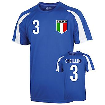 Italy Sports Training Jersey (chiellini 3) - Kids