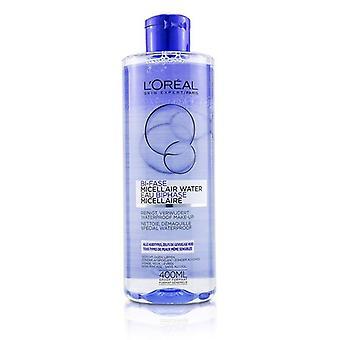 L'oreal Bi-Phase Micellar Water (Bi-Fase Micellair Water) - For All Skin Types even Sensitive Skin - 400ml/13.3oz