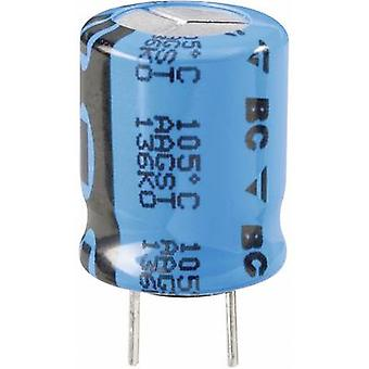 Vishay 2222 136 65472 Electrolytic capacitor Radial lead 7.5 mm 4700 µF 16 V 20 % (Ø x H) 16 mm x 35 mm 1 pc(s)