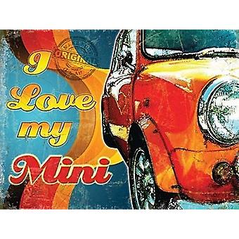 I Love My Mini Fridge Magnet