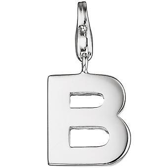 Одноместный серьги очарование письмо B-925 серебро Кулон Браслет