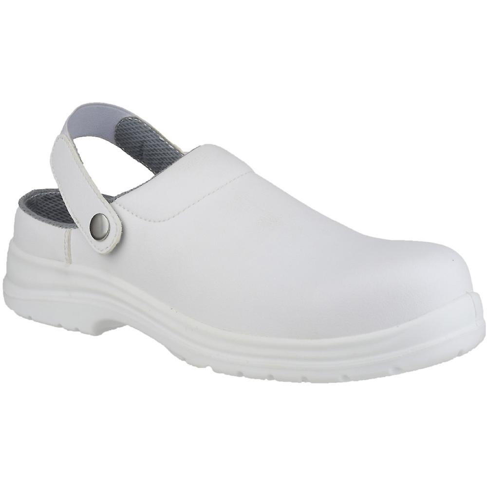 Amblers Safety Waterproof Mens FS512 White Clog Waterproof Safety Safety Shoes White 4def81