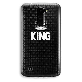 LG K10 (2016) gennemsigtig sag (Soft) - King sort