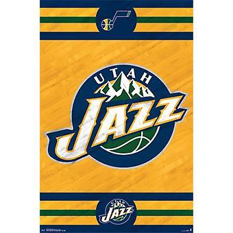 Utah Jazz - Logo 14 Poster Poster Print