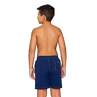 Mittelerweile jungen Superman Wasser Shorts, Navy