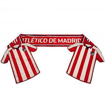 Atletico Madrid Shirt Scarf