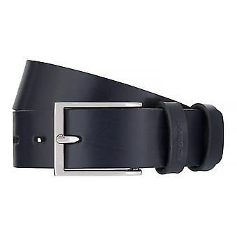Strellson belts men's belts leather belt blue 7554