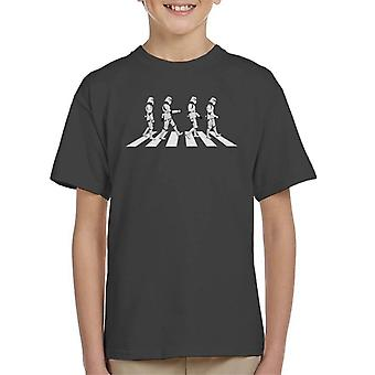Originele Stormtrooper Abbey Road Kid's T-Shirt