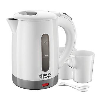 Russell Hobbs 23840 Travel Kettle with 2 Cups & Spoons