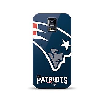 Mizco Sports NFL Oversized Snapback TPU Case for Samsung Galaxy S5 (England Patr