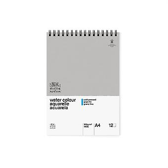 Winsor & Newton Classic Water Colour Pad CP 300gsm A4 (Spiral)