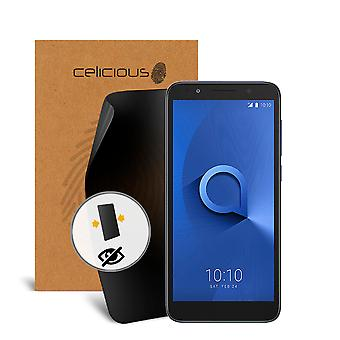 Celicious Privacy 2-Way Anti-Spy Filter Screen Protector Film Compatible with Alcatel 1x
