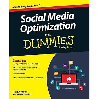 Social Media Optimization for Dummies by Ric Shreves - Michelle Krasn
