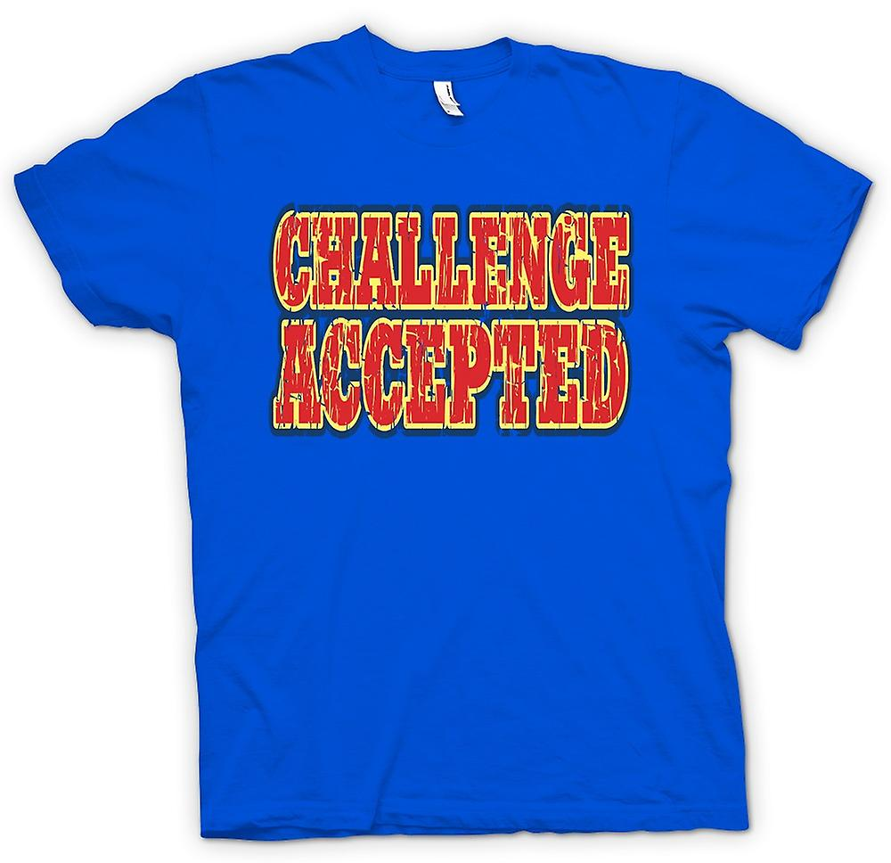 Mens T-shirt - Challenge Accepted