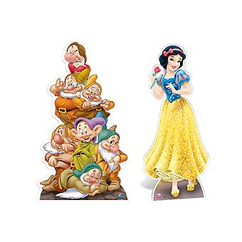 Snow White and The Seven Dwarves Lifesize Cardboard Cutout / Standee