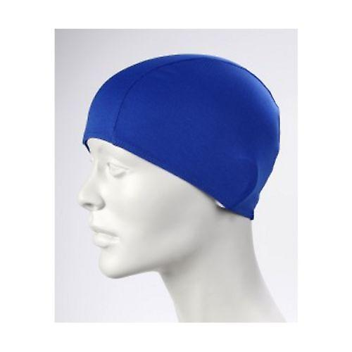 BECO 100% Polyester Fabric Adults Swim Cap-Blue