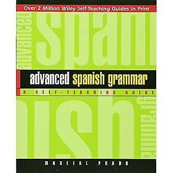 Grammaire de l'Espagnol avancé: Un Guide d'auto-apprentissage (Guides d'autoapprentissage Wiley)