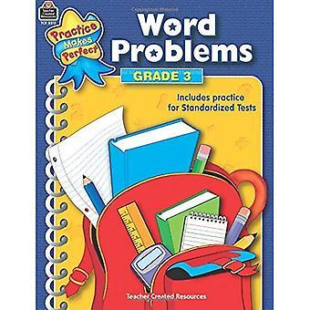 Word Problems Grade 3 (Mathematics)