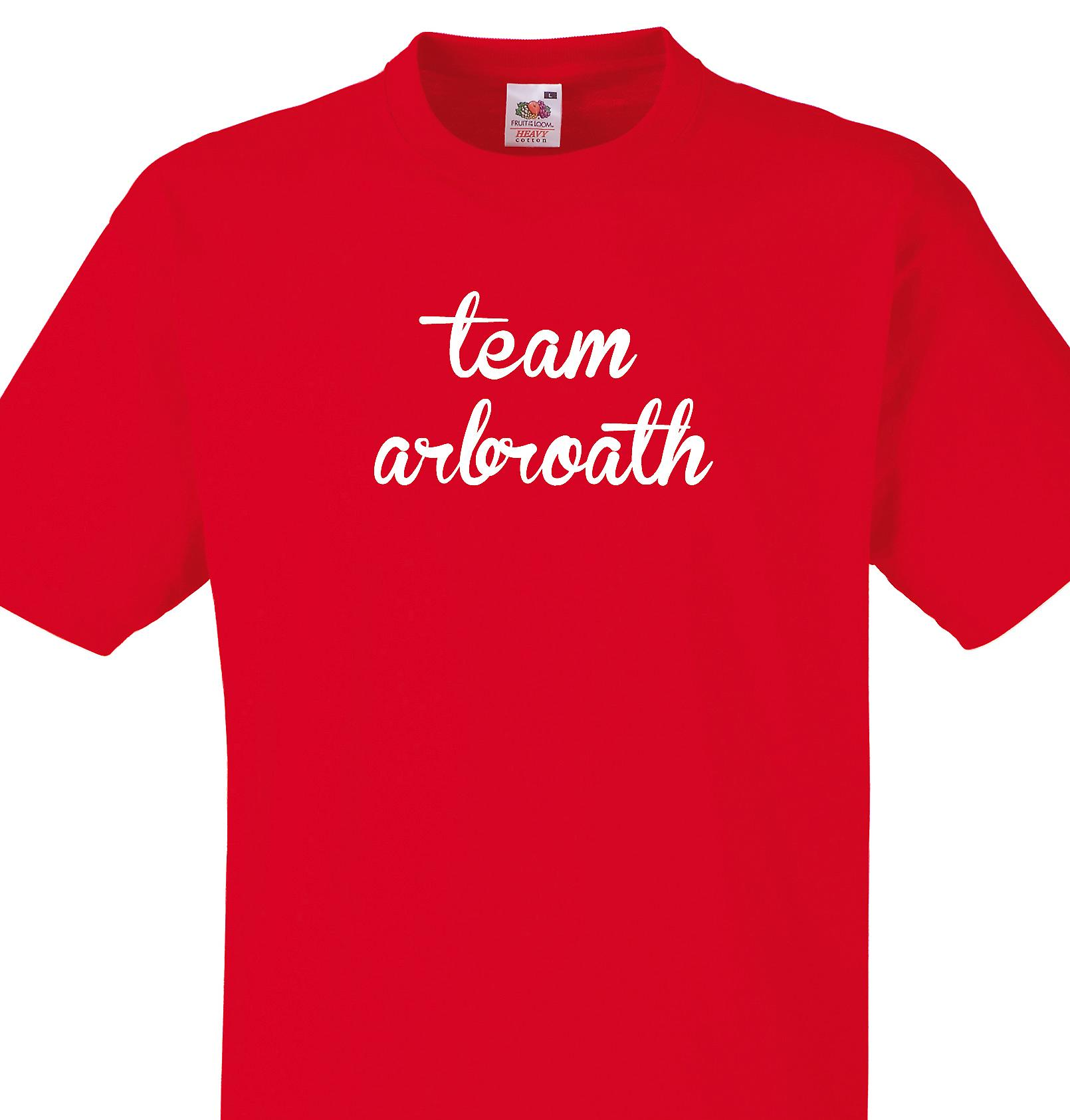 Team Arbroath Red T shirt