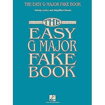 Lätt G Major Fake boken