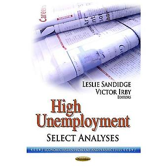HIGH UNEMPLOYMENT SELECT ANA. (Economic Issues, Problems and Perspectives: American Political, Economic, and Security...