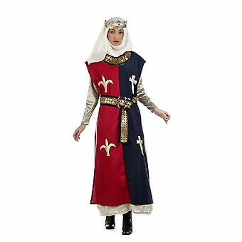 Princess Braveheart ladies costume of medieval Queen noblewoman ladies costume