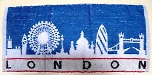 London Cotton Bar Towel