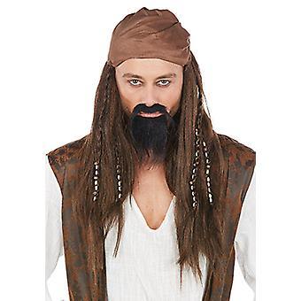 Caribbean Pirate Perücke