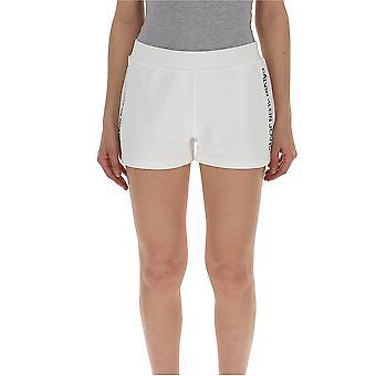 Calvin Klein Jeans weiße Baumwollshorts