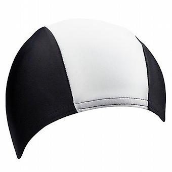 BECO Polyester Swimming Cap for Children - Black/White