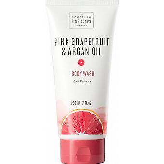 Scottish Fine Soaps Pink Grapefruit & Argan Oil Body Wash