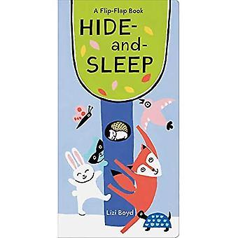 Hide-and-Sleep: A Flip-Flap Book [Board book]