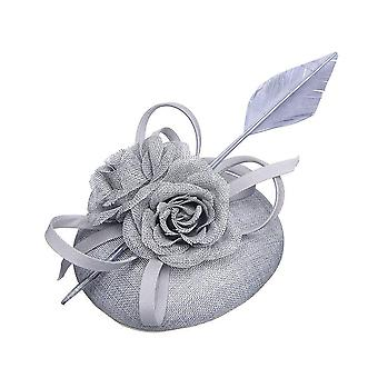 Intrigue Womens/Ladies Floral Linen Look Fascinator