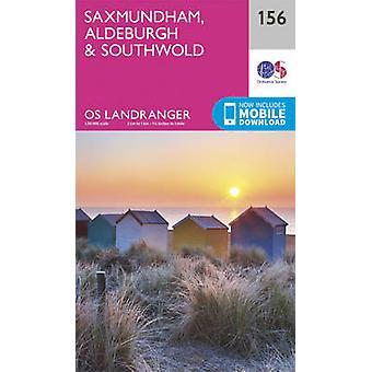 Saxmundham - Aldeburgh & Southwold by Ordnance Survey - 9780319262542