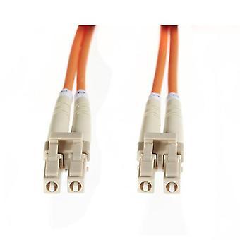 5M Lc Lc Om1 Multimode Fibre Optic Cable Orange