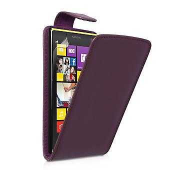 YouSave Accessories Nokia Lumia 1020 Leather Effect Flip Case - Purple