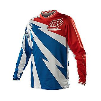 Troy Lee Designs Blue-Red 2014 GP Air Cyclops Kids MX Jersey