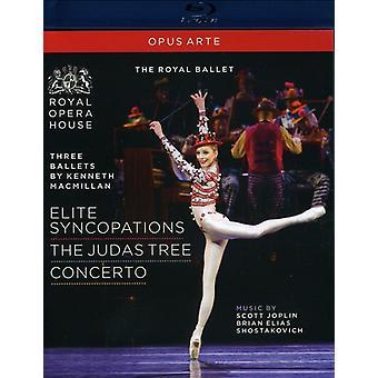 Three Ballets: Concerto Elite [BLU-RAY] USA import