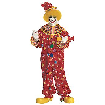 Starburst Clown Circus Birthday Party Funny Book Week Adult Mens Costume