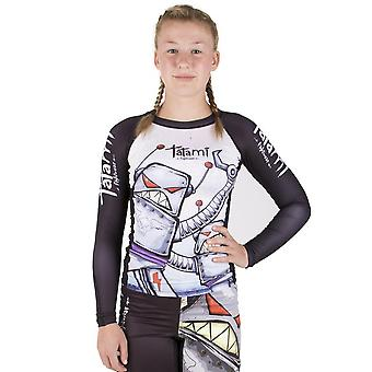 Tatami Fightwear Kids Robots lange mouw Rash Guard